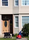 Os miúdos vivem aqui Fotos de Stock Royalty Free