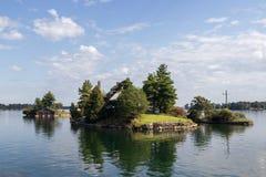 Os mil cruzeiros Canadá da ilha Fotos de Stock Royalty Free