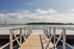 Os mil cruzeiros Canadá da ilha Imagens de Stock Royalty Free