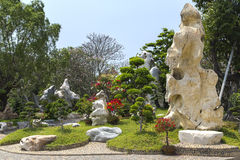Os milhão anos do parque de pedra Foto de Stock