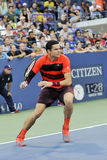 Os Milos de Raonic ENLATAM no US Open (6) Foto de Stock Royalty Free