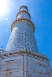 Os minaretes de Taj Mahal Fotos de Stock Royalty Free