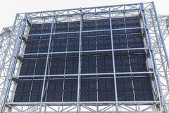 Os monitores do diodo emissor de luz do painel traseiro Fotos de Stock