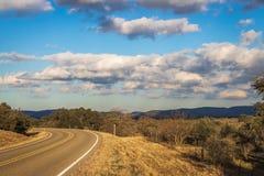 Os montes de Llano County fotografia de stock