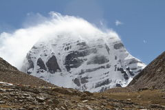 Os montes de Tibet Foto de Stock Royalty Free