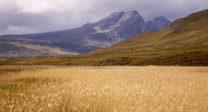 Os montes e o campo de Cullin Fotos de Stock