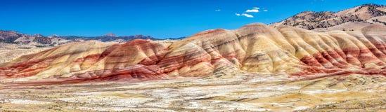 Os montes pintados coloridos Fotos de Stock Royalty Free