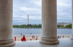 Os monumentos históricos de Washington imagem de stock