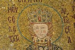 Os mosaicos de Comnenus, Hagia Sophia, Istambul fotos de stock royalty free