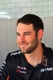 Os motoristas do campeão dos supercarros de V8 encontram fãs do Motorsport em Auckland, Foto de Stock