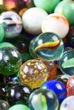 Os mármores fecham-se acima para um fundo Fotos de Stock