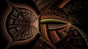 Os mundos de fantasia dos fractals Imagem de Stock