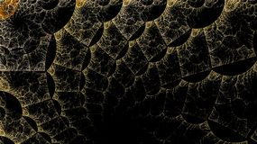 Os mundos de fantasia dos fractals Fotos de Stock Royalty Free