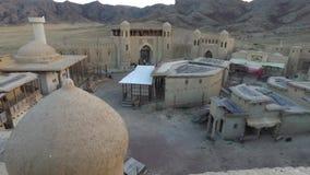 Os nómadas fortificam Arquitetura do nômadas Vida dos nómadas vídeos de arquivo