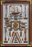 Os nós do marinheiro imagem de stock royalty free