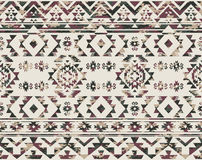 Os nativos americanos modelam com textura da camuflagem Fotos de Stock