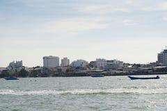 Os navios no mar Fotografia de Stock Royalty Free