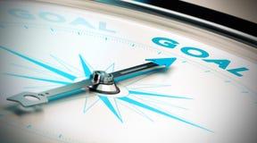 Os objetivos do ajuste e conseguem-nos Fotografia de Stock Royalty Free