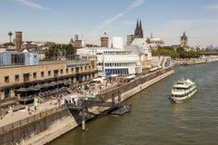 OS- och chokladmuseum i Cologne, Tyskland Fotografering för Bildbyråer