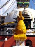 Os olhos de Buda Fotos de Stock