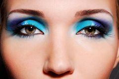 Os olhos sensuais Imagem de Stock