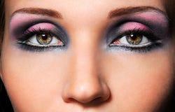 Os olhos sensuais Imagens de Stock Royalty Free