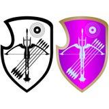 Osłona, crossbow i arrows-4, Ilustracji