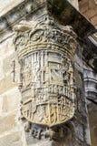 Osłona miasto Plasencia, Hiszpania Zdjęcia Royalty Free