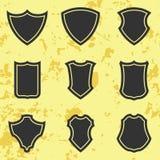 Osłony ikony set Obrazy Royalty Free