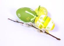 Os ovos da páscoa Fotografia de Stock