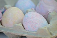 Os ovos de easter coloridos Foto de Stock Royalty Free