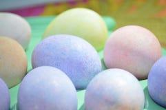 Os ovos de easter coloridos Imagens de Stock