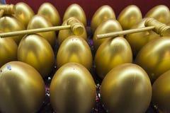 Os ovos dourados Foto de Stock Royalty Free