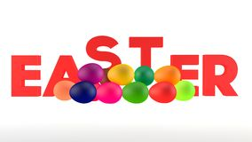 Os ovos isolados no branco Fotografia de Stock Royalty Free