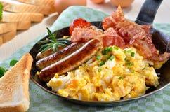Ovos Scrambled Foto de Stock