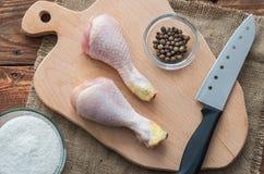 Os pés da galinha Fotografia de Stock