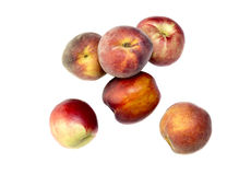Os pêssegos maduros Foto de Stock