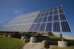 Os painéis solares Fotografia de Stock Royalty Free