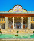 Os palácios de Shiraz, Irã Imagens de Stock Royalty Free
