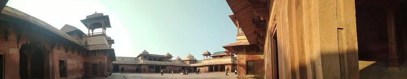 jodh bai palace fatehpur sikri. royalty free stock photo