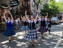 13os parada da dan?a de New York City e festival anuais 2019 imagens de stock