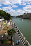 Os Paris-Plages encalham 2013 (França) Imagens de Stock Royalty Free