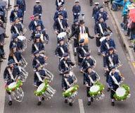 Os participantes da mola das crianças desfilam em Zurique, Suíça Fotografia de Stock