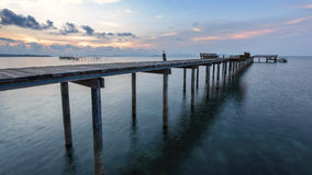 Os passeio à beira mar longos Imagem de Stock Royalty Free