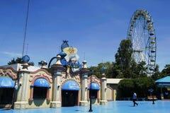 Os passeios, os locais e o interior das atrações encantaram o reino Foto de Stock Royalty Free