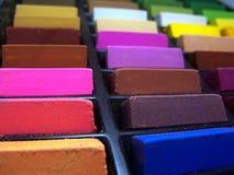 Os pastels macios fecham-se acima Fotos de Stock Royalty Free