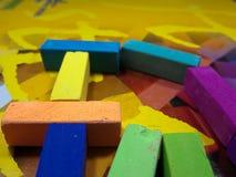 Os pastels macios fecham-se acima Imagem de Stock