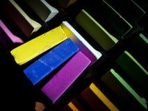 Os pastels macios fecham-se acima fotografia de stock royalty free