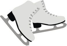 Os patins da fêmea Fotografia de Stock Royalty Free