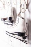 Os patins fecham-se acima Foto de Stock